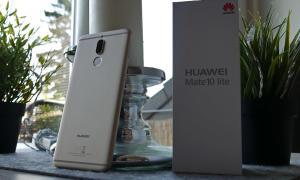 Huawei Mate 10 Lite Header