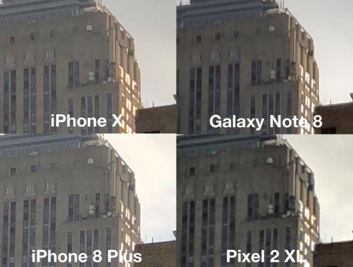 Smartphone Kamera Vergleich Iphone Note Pixel 2