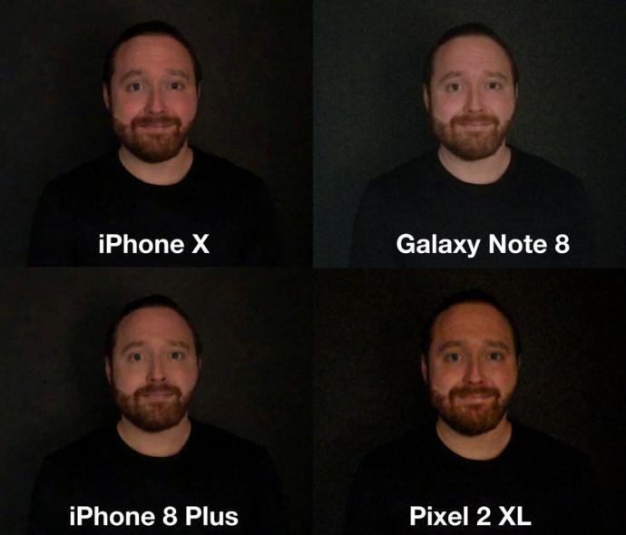 Smartphone Kamera Vergleich Iphone Note Pixel 4