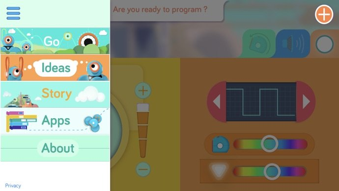 Wonder Workshop Dash App Go3