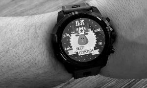 Android Wear Smartwatch Xmas Christmas Weihnachten Advent Stimmung