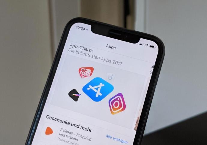 Das Beste Aus 2017 Apple App Store Header