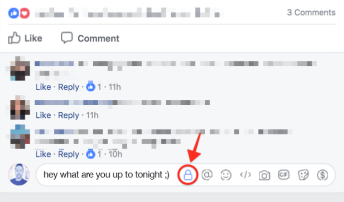 Facebook Comments Privacy