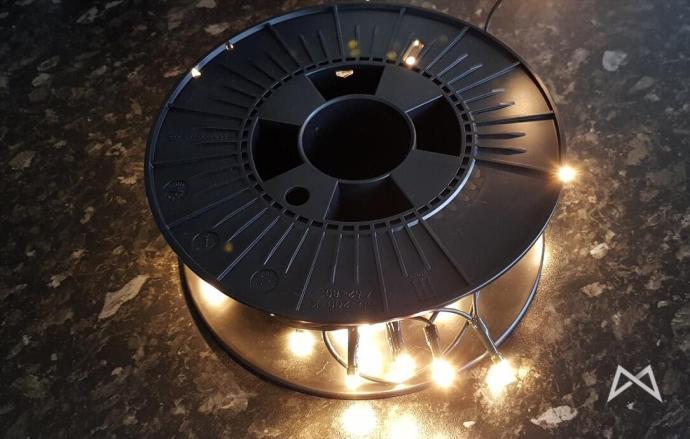 Filament Rolle Lichterkette Weihnachten