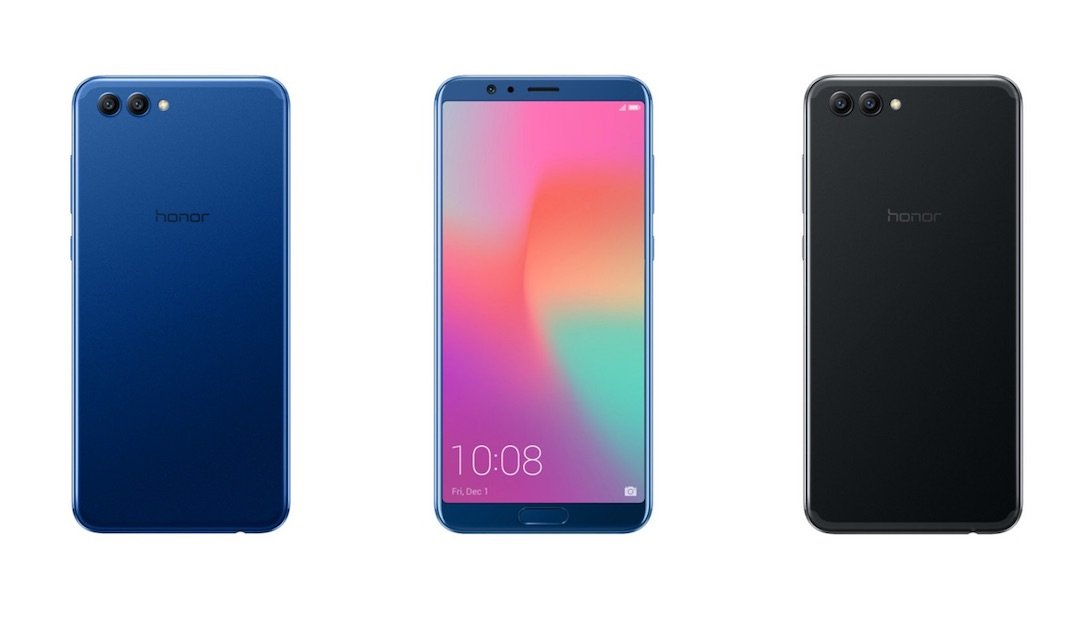Honor View 10 Header