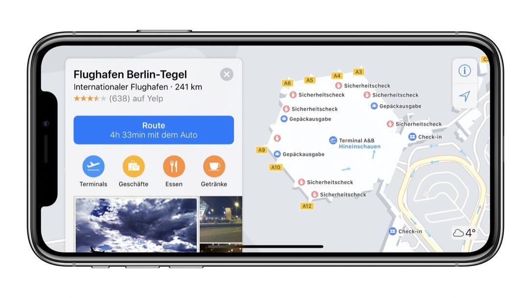 Ios 11 Indoor Maps Karten