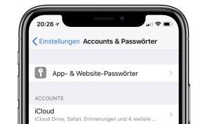 Ios Apps Und Passwoerter