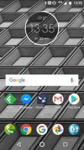 Moto X4 Homescreen 1085