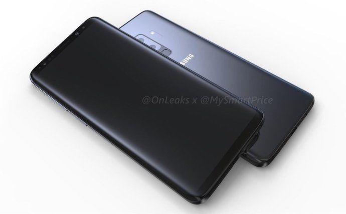 Samsung Galaxy S9 Plus Render