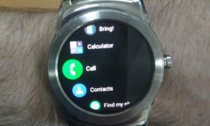 Android Wear 2.8 Dark Background