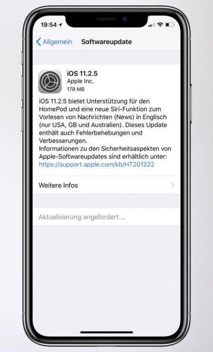 Apple Ios 11 2 5