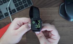 Apple Watch Nachtmodus