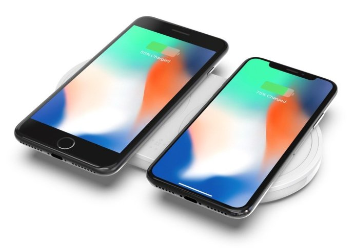 Dual Wireless Pad Iphone