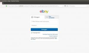 Ebay Fake