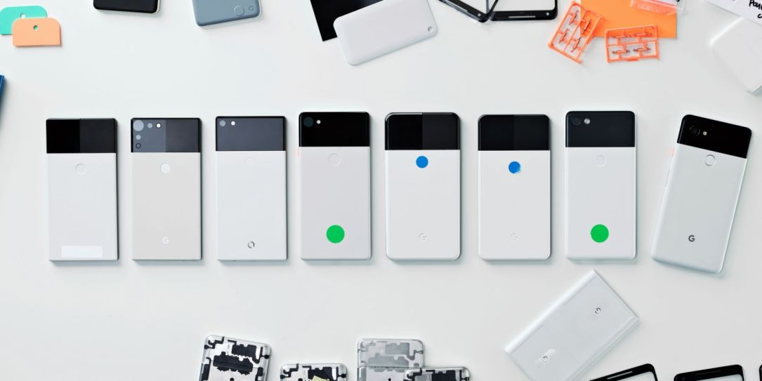 Google Design Pixel 2 Iterations1