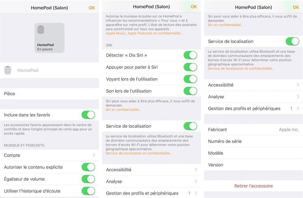 Homepod Home App Homekit Screenshots