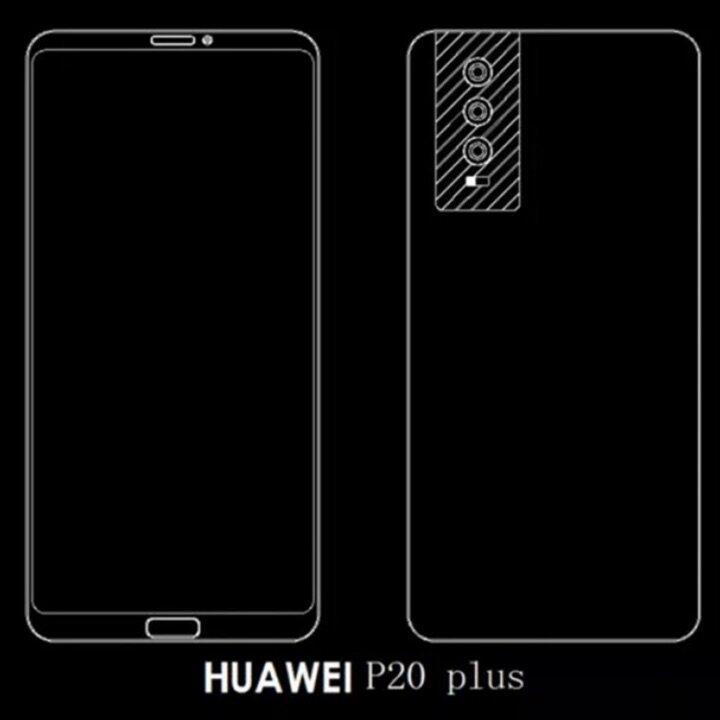 Huawei P20 Plus Leak