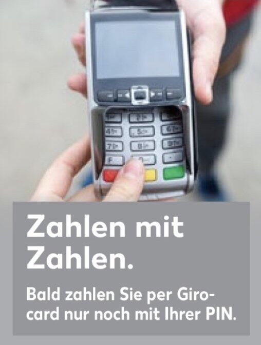 Kaufland Girocard Info Pin