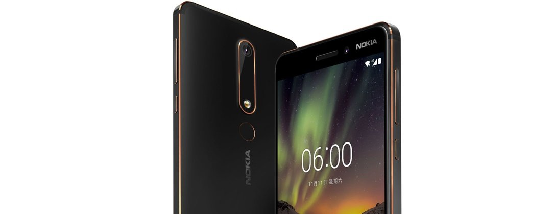 Nokia 6 2018 Header