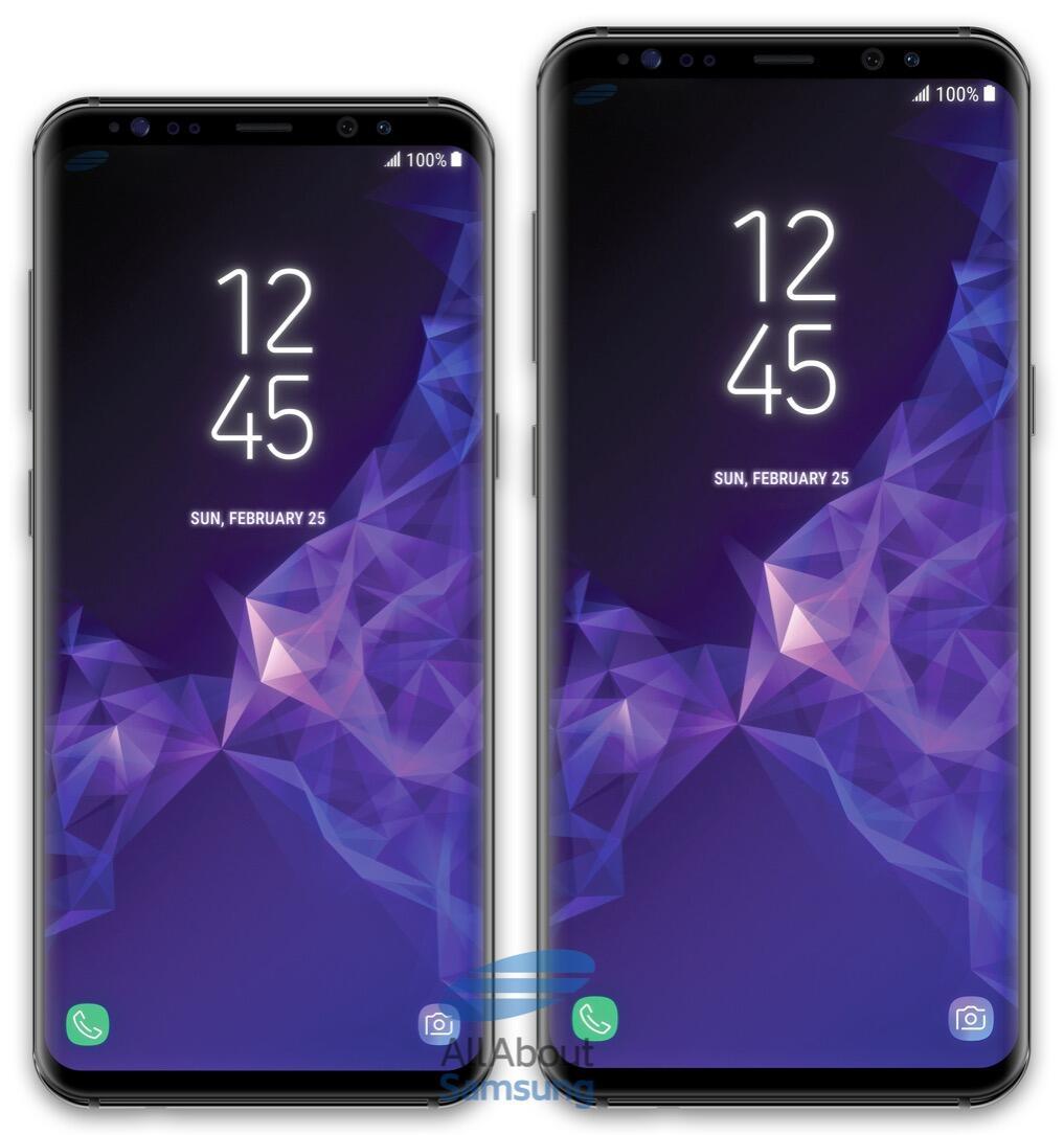 Samsung Galaxy S9 Plus Front