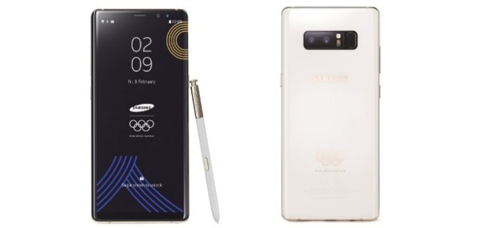 Samsung Galaxy Note 8 Olympic 2