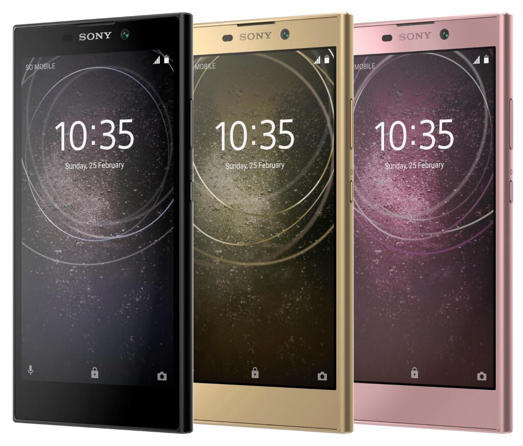 Sony Xperia L2 Farben