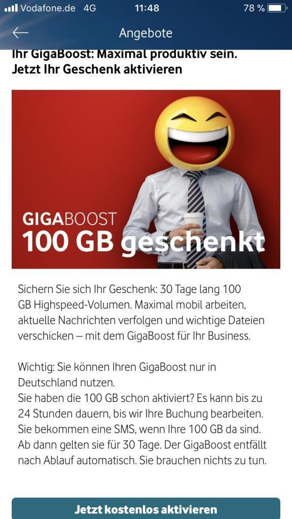 Vodafone Gigaboost 1