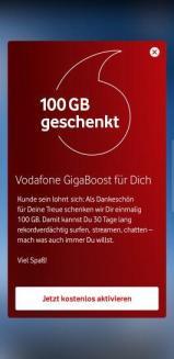 Vodafone Gigaboost 2