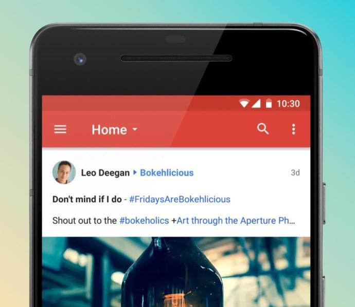 Google Plus App Android