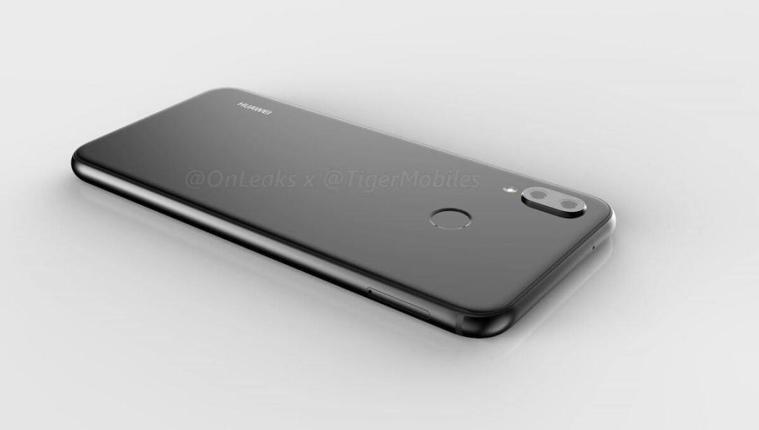 Huawei P20 Lite Leak Render Back