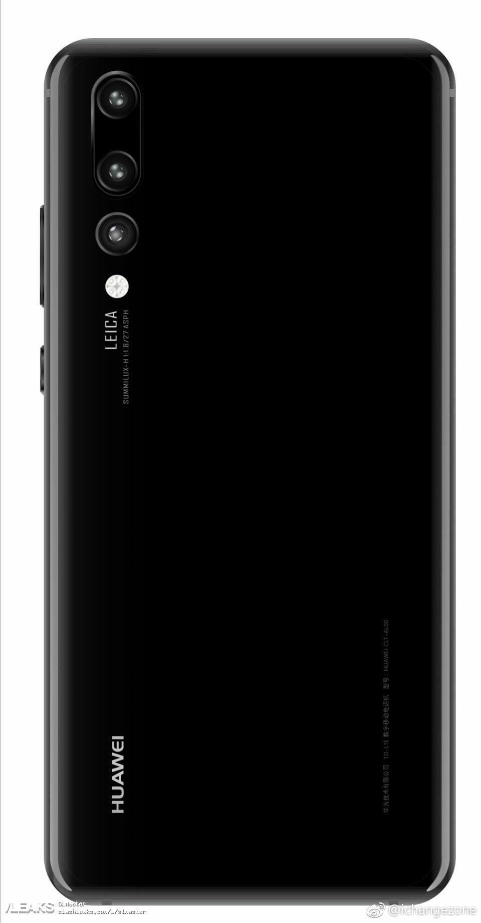 Huawei P20 Plus Back