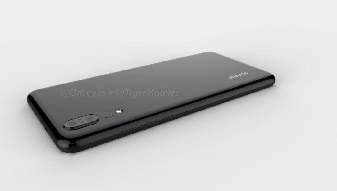 Huawei P20 Render3