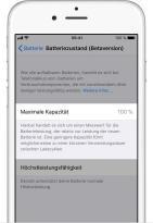 Ios11 Iphone6 Settings Battery Health Maximum Capacity