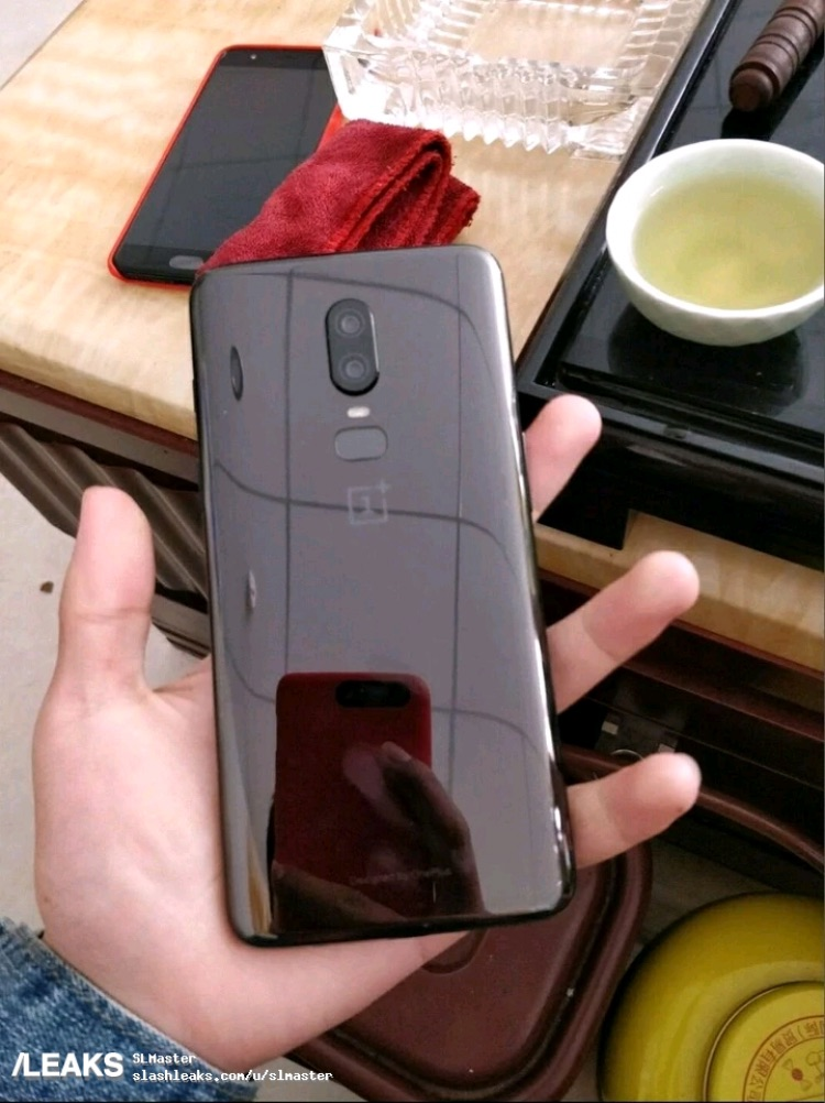 Oneplus 6 Back Leak