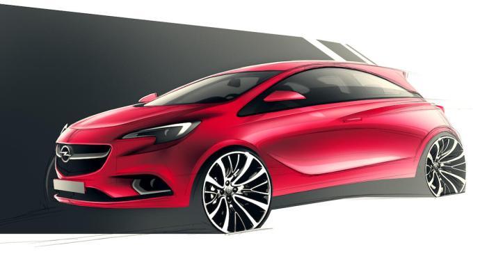 Opel Corsa Design Konzept