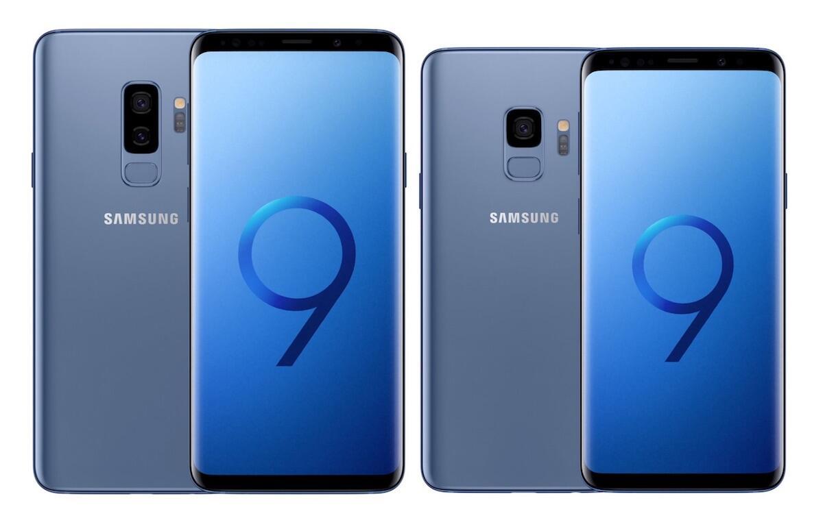 Samsung Galaxy S9 Plus Blau