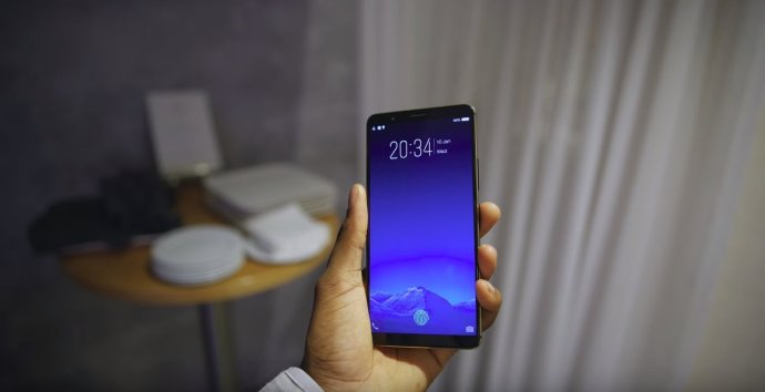 Vivo X20 Plus Ud Fingerabdrucksensor Display