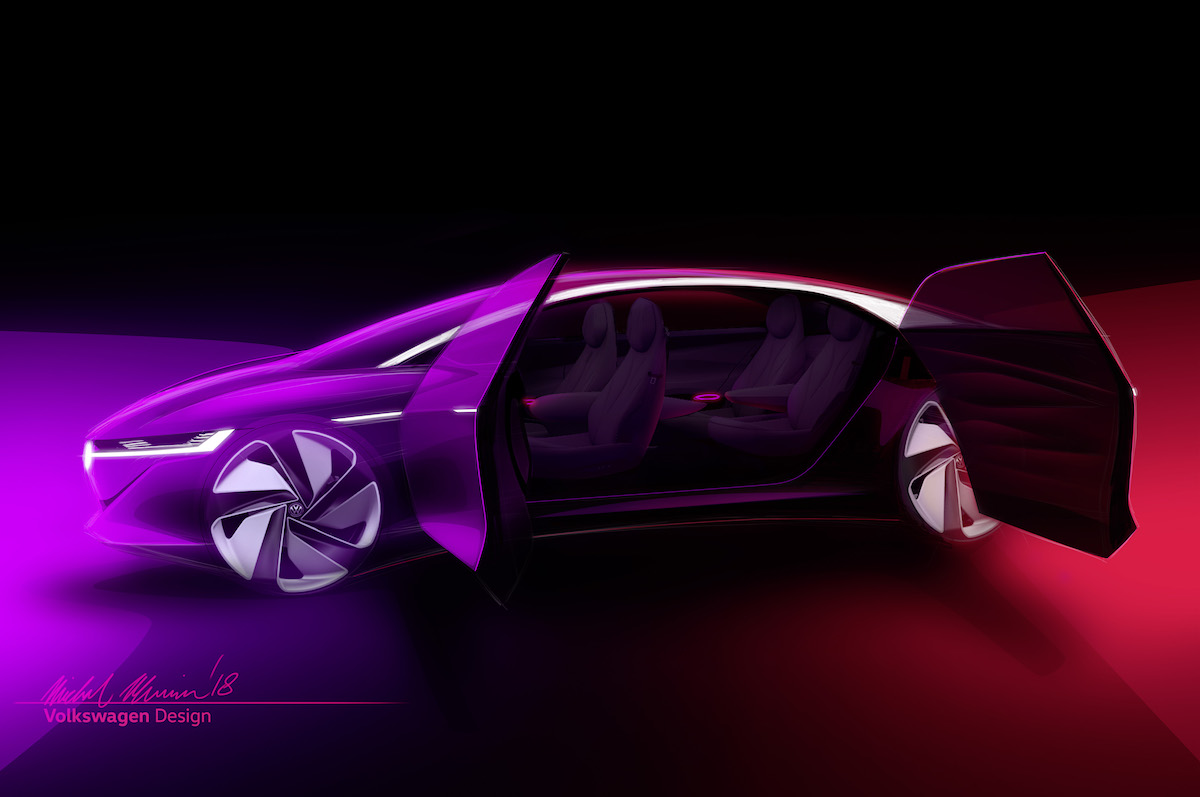 Vw Volkswagen Id Vizzion Seite