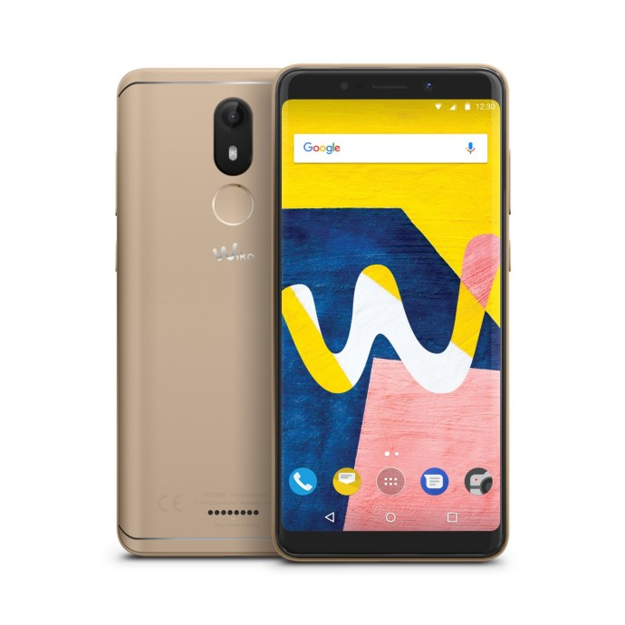 Wiko View Lite Gold Compo 01