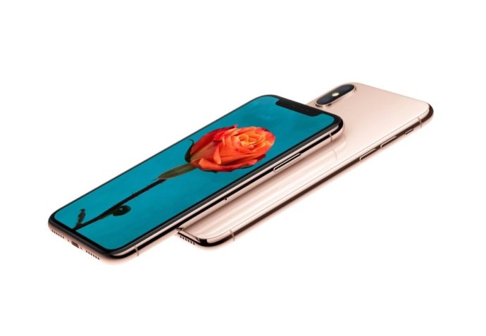 Apple Iphone X Gold Mockup