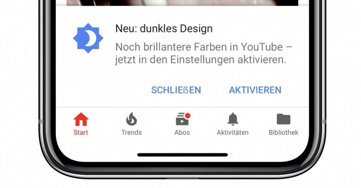 Dark Mode Youtube