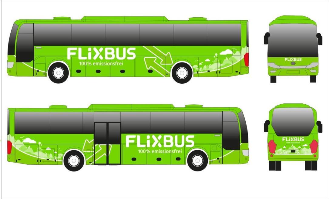 Flixbus E Bus Modell