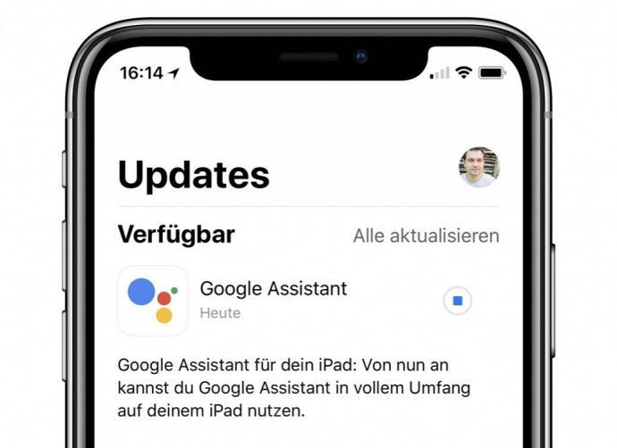 Google Assistant Ipad Update