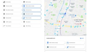 Google Maps Shortcuts