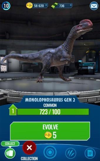 Jurassic World Alive Screen2