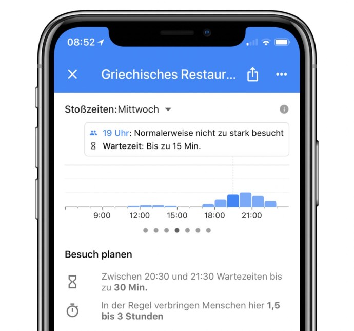 Maps Ios Wartezeit Google