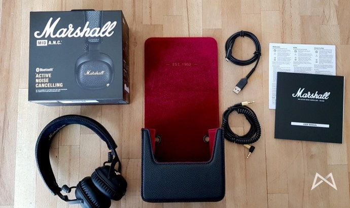 Marshall Mid Anc Lieferumfang