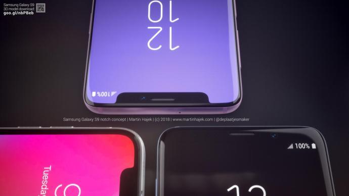 Samsung Galaxy S9 Notch 2