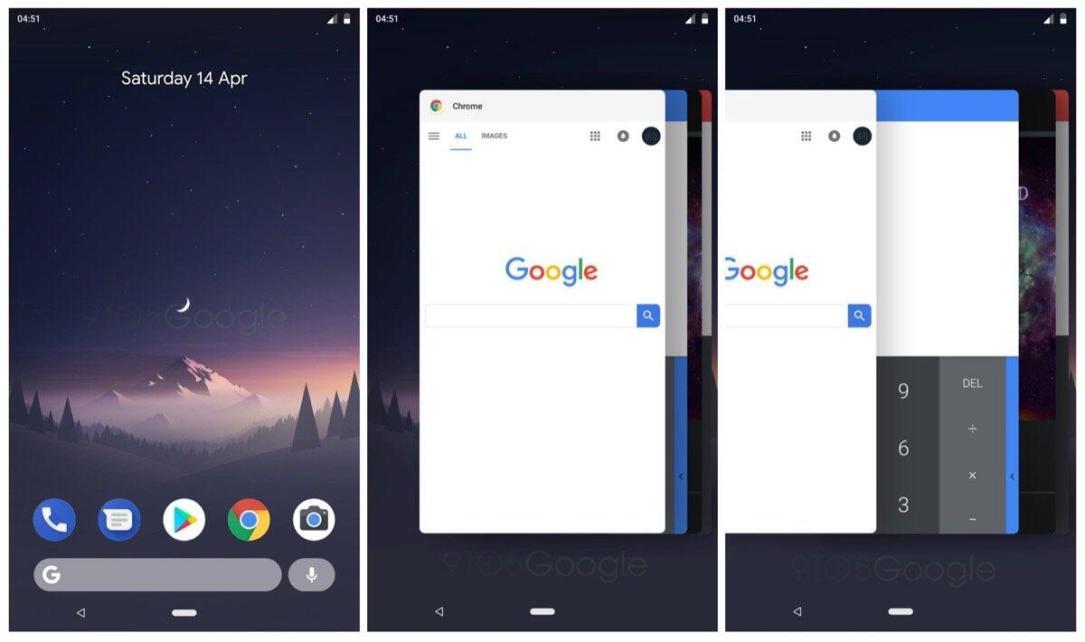 Android P Multitasking