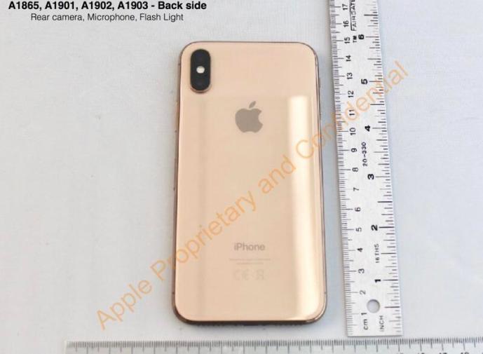 Apple Iphone X Gold Fcc4